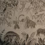 """""""Африка"""". Петрова Оля, 8л. Гелевая ручка. 2010"""